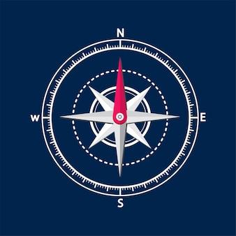 Иллюстрация компаса