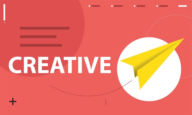 창의적인 아이디어의 삽화