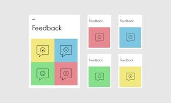 Illustration of customer feedback