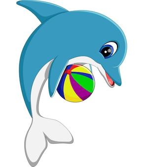 귀여운 돌고래 만화의 그림