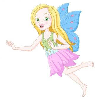 かわいい妖精漫画のイラスト