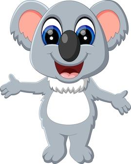 Иллюстрация симпатичный мультфильм коала