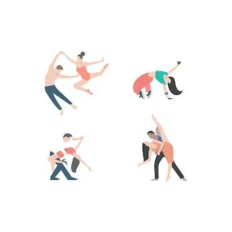 Иллюстрация танца