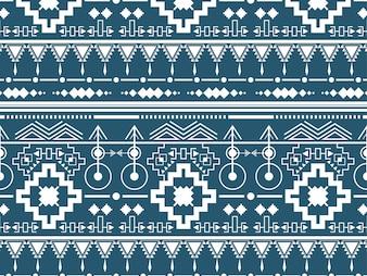 Illustration of ethnic pattern