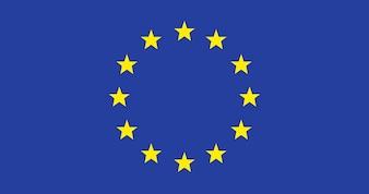 Illustration of European Union flag