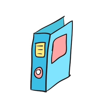 Иллюстрация значка папки