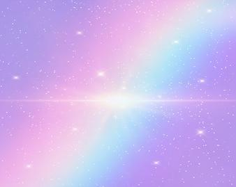 Illustration of galaxy fantasy background