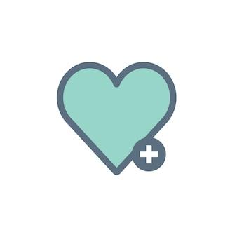 Illustration of heart icon