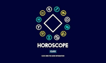 Illustration of horoscope