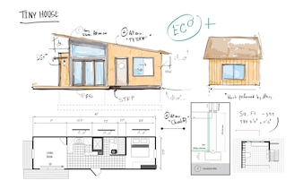 Illustration of house planning