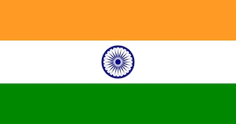 Illustration of India flag