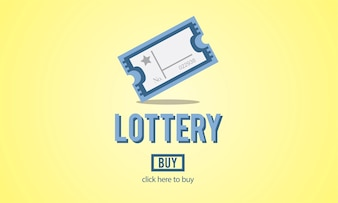 Illustration of lottery game