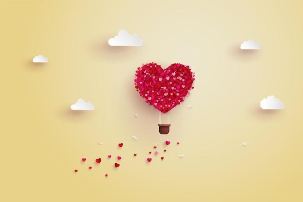 バレンタインデーへの愛のイラスト