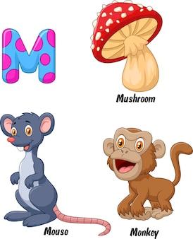 Иллюстрация алфавита m