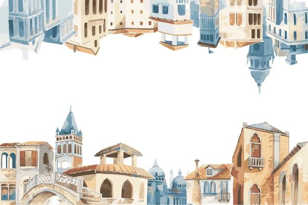 地中海、都市、建物、外面、水色、スタイル