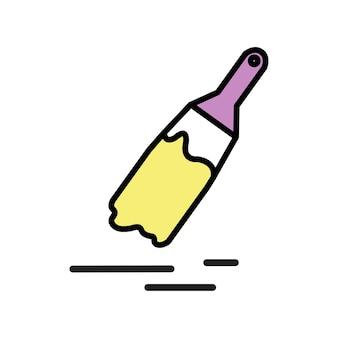 Иллюстрация кисти для рисования