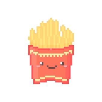 Иллюстрация пиксельного картофеля