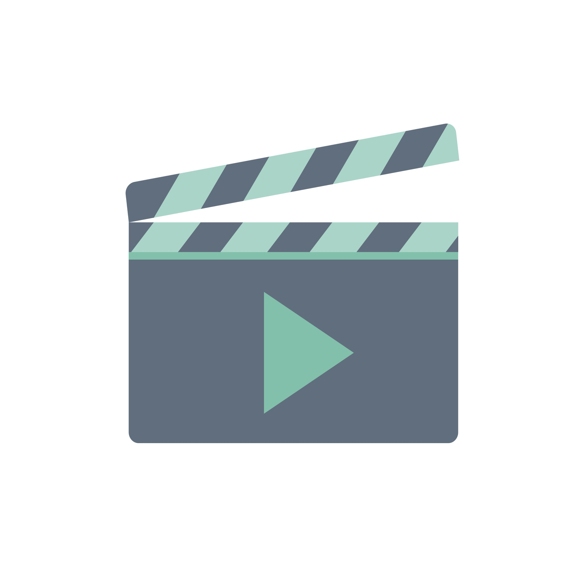 Illustration of play button