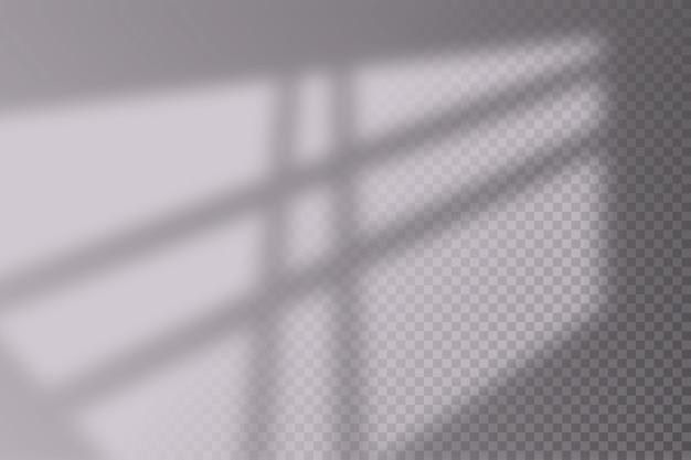 リアルなシャドウオーバーレイ効果のイラスト。
