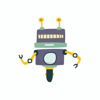 Иллюстрация векторной графики робота
