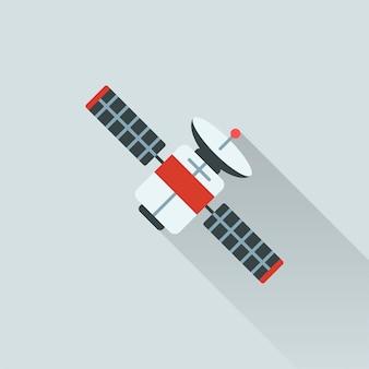 衛星のイラスト
