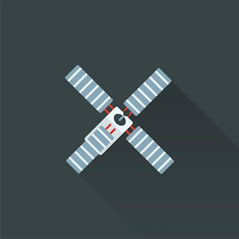 위성의 일러스트