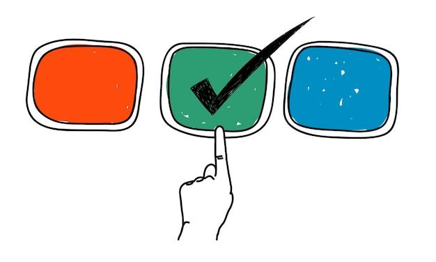 선택의 삽화