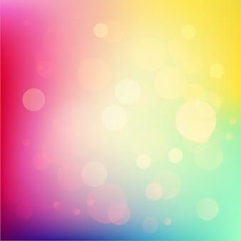 Иллюстрация мягкий цветной абстрактный фон