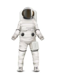 宇宙飛行士のための宇宙服のイラスト