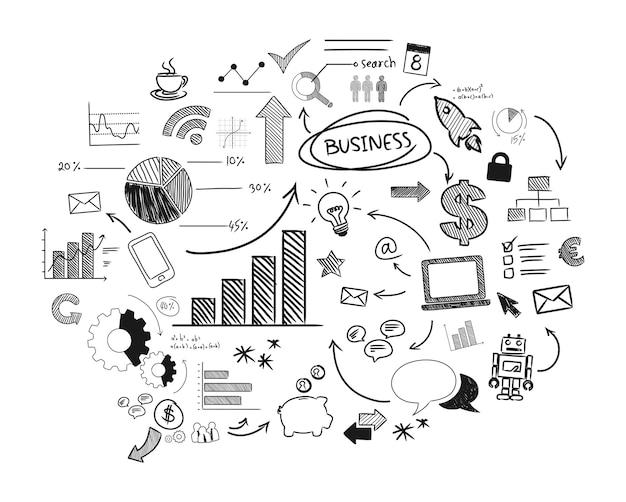 Иллюстрация начинающего бизнеса