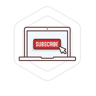 Illustration of subscribe