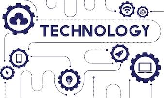 Illustration of technology vector
