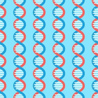 Dna 분자 그리기 패턴의 그림