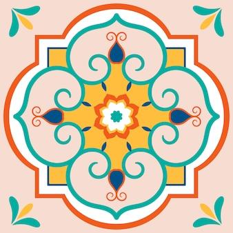 타일 질감 패턴의 그림