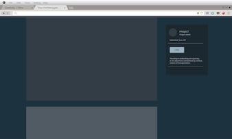 Illustration of user interface