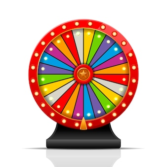 Wheel of fortuneのイラスト