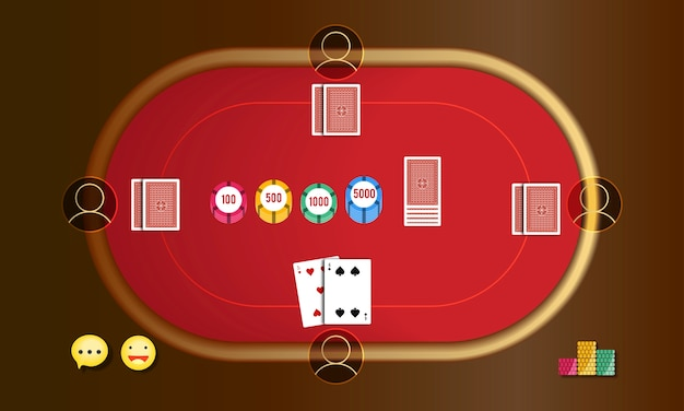Illustration of online gambling