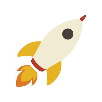 Illustration of rocket icon