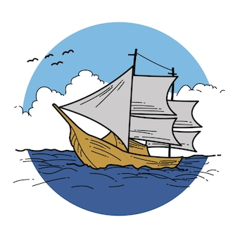 Illustration sail
