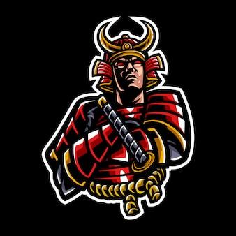 Illustration of samurai