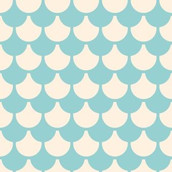 Illustration of seamless geometric pattern