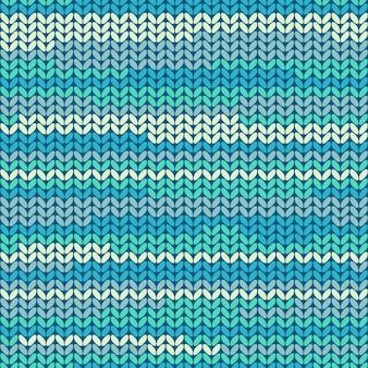 Illustration seamless knitted pattern.