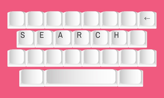 Illustration of search concept