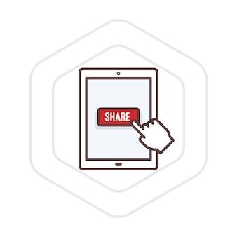 Illustration of share