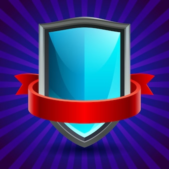 Illustration of shield icon