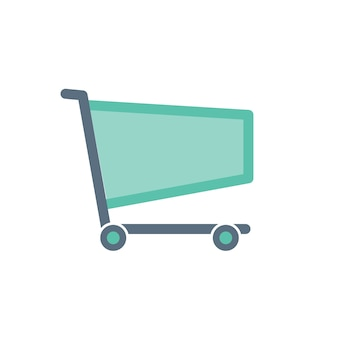 Illustration of shopping online