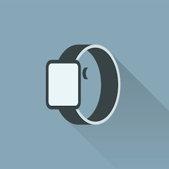 Illustration of smartwatch