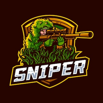 Illustration of sniper