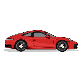 Illustration sport car,