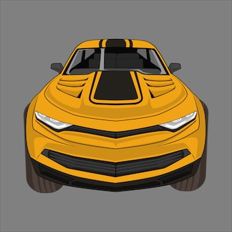 Illustration sport car